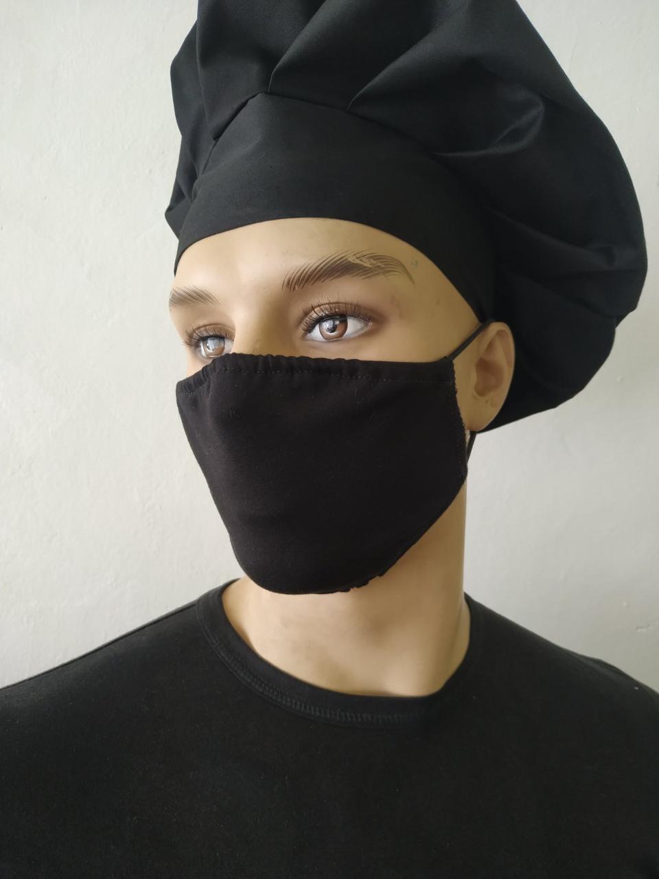 Маски захисні за Собівартістю виробництва Багаторазові, маска на 2 шари