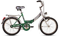 """Велосипед ARDIS FOLD СК 20"""" 16"""" Серый/Зеленый (0808)"""