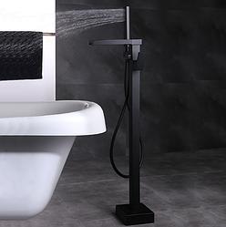 Кран для ванной высокий Sonic RD-264 черный (матовый) (RD-264)