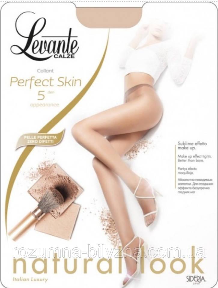 Колготи натурального кольору 5 ден TM Levante Розміри 2,4, 3,4