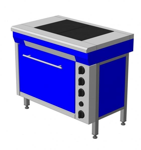 Плита электрическая кухонная с плавной регулировкой мощности ЭПК-2Ш стандарт