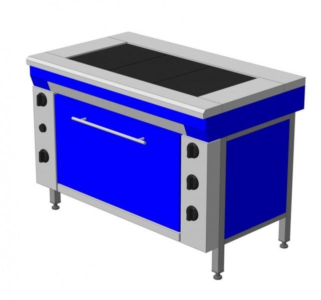 Плита электрическая промышленная ЭПК-3Ш стандарт