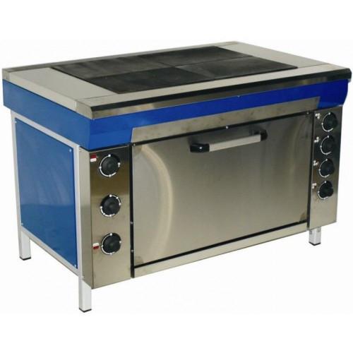 Плита электрическая кухонная с плавной регулировкой мощности ЭПК-4мШ мастер