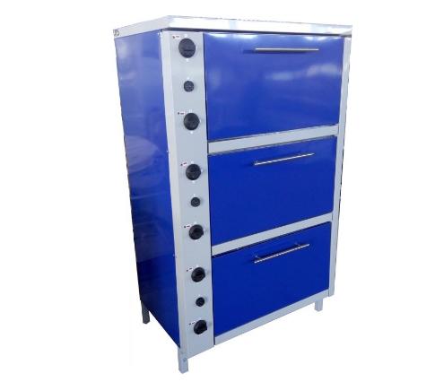 Шкаф жарочный электрический трехсекционный с плавной регулировкой мощности ШЖЭ 3 GN 1/1 мастер