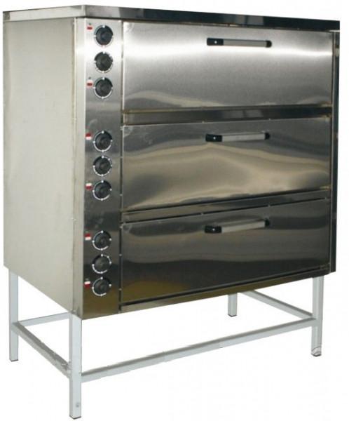 Шкаф жарочный электрический трехсекционный  с плавной регулировкой мощности  ШЖЭ 3 GN 1/1 эталон