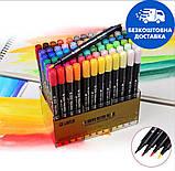 Набор двусторонних акварельных маркеров STA 36 цветов (B141220), фото 3