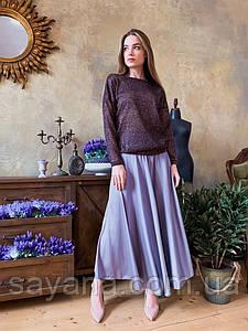 Женская юбка миди в расцветках КК-3-0420