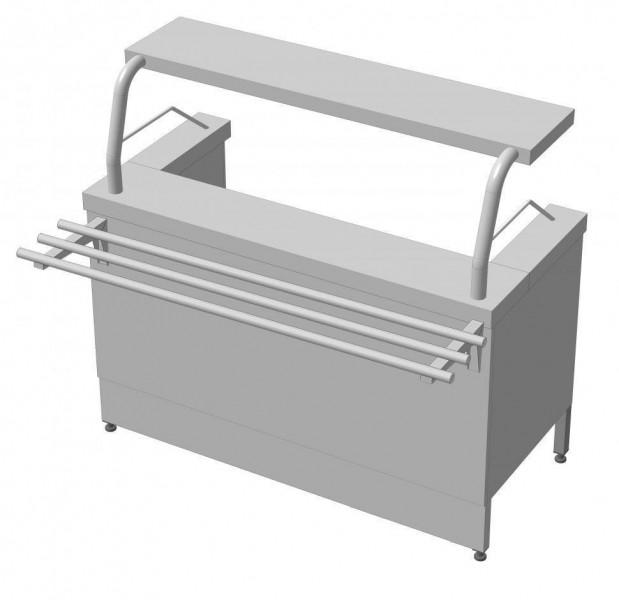 Мармит первых блюд МСЭ-1 СТАНДАРТ 304/Ст.3 VSOP 1800.0 (мм)