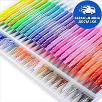 Большой набор маркеров для рисования и скетчинга, двусторонние маркеры на водной основе 48 цветов