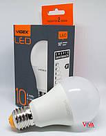 LED лампа VIDEX A60e 10W E27 4100K 220V, фото 1