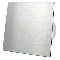 Витяжний вентилятор AirRoxy dRim 125 S BB Brushed Aluminum панеллю алюміній алюминий метал