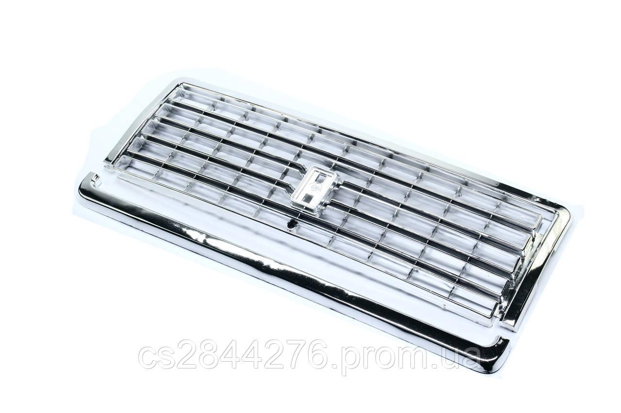 Решетка радиатора ВАЗ 2107 (хром, с молдингом) (пр-во Россия) 2107-8401014/104