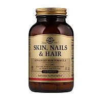 Витамины для кожи, волос и ногтей Solgar Skin Nails & Hair 120 tabs