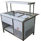 Прилавок холодильный с боксом (ПВХЛС) СТАНДАРТ 201/Ст.3 VS 1500.0 (мм), фото 2