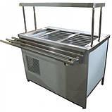 Прилавок холодильный с боксом (ПВХЛС) СТАНДАРТ 304/Ст.3 VSOP-1, 1800.0 (мм), фото 2