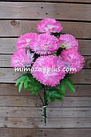 Искусственные цветы - Гвоздика букет, 58 см