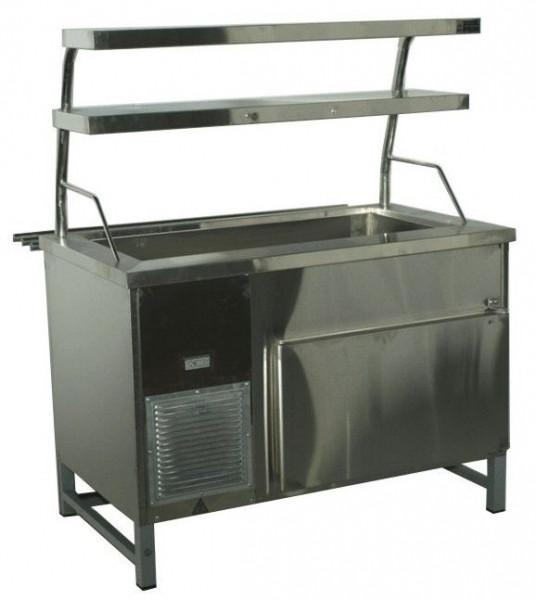 Прилавок холодильный без бокса (ПВХЛС) МАСТЕР 304/430 VSOP 1000.0 (мм)