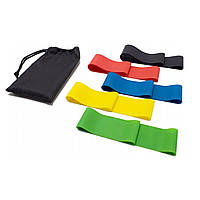 Комплект резинок для фитнеса 5 шт