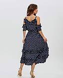 Платья  11475  S темно-синий, фото 3