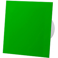 Витяжний вентилятор AirRoxy dRim 125 S BB GREEN панеллю зелений зельоный пластик