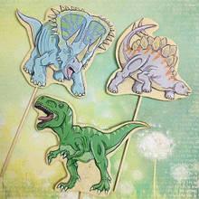 Набор трафаретов + формочек-вырубок для пряников Набор Динозавров №6