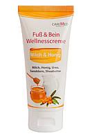 Крем Wellness с молоком, мёдом и облепихой CareMed 450мл