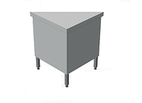 Нейтральный элемент угловой (НЭ-У) внутренний 90° СТАНДАРТ 304/Ст.3 (без полок)