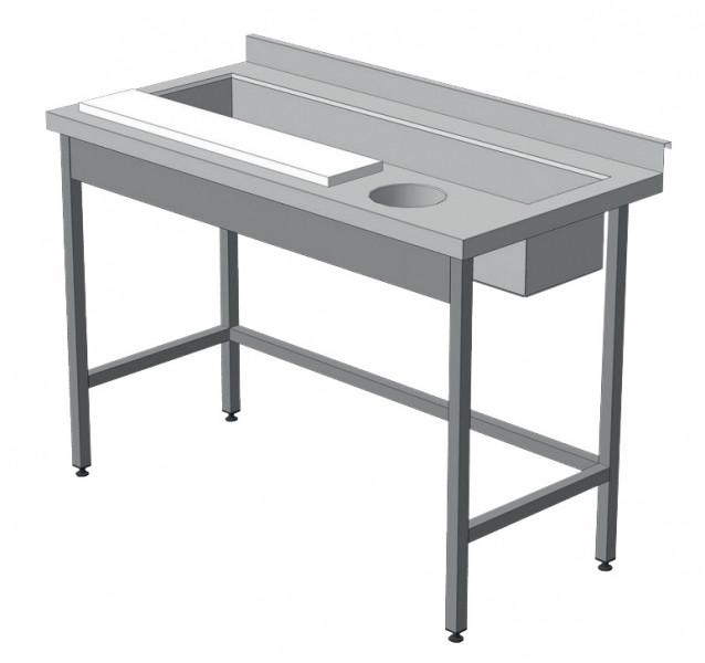 Стол производственный для обработки овощей (без полки)