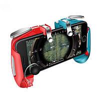 Геймпад Seuno AK-16 триггеры для Pubg mobile pink blue