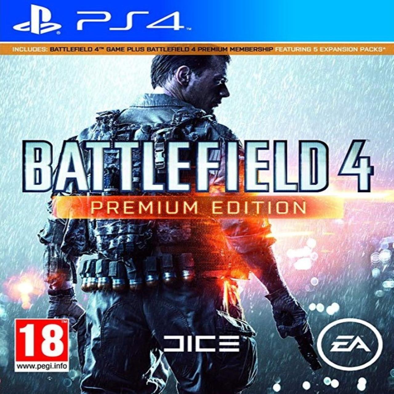 Battlefield 4 Premium Edition (російська версія) PS4