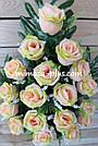 Искусственные цветы - Роза с гипсофилой композиция, фото 2