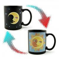 Чашка-хамелеон Солнце и Луна