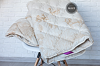 Одеяло ODA полуторное из Овечьей шерсти 155х210 см.  Ковдра вовняна Ода   Одеяло на овчине