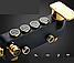 Душова система зовнішнього монтажу ZOSN з термостатом., фото 7