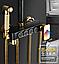 Душова система зовнішнього монтажу ZOSN з термостатом., фото 5