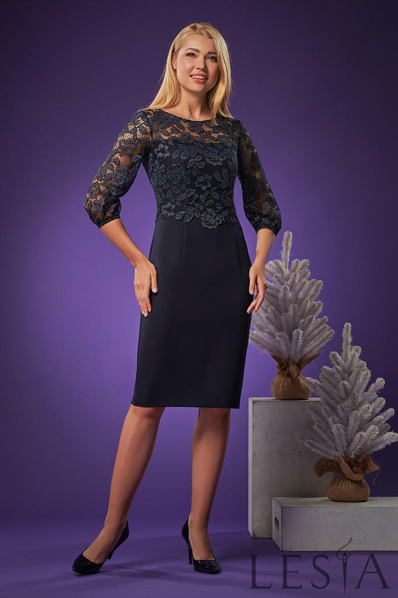 Элегантное платье-футляр приталенного кроя Lesya Марли 5