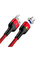USB Кабель Micro-Usb Usams U28 Red (US-SJ328) 1m.