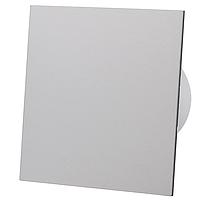 Витяжний вентилятор AirRoxy Таймер dRim 100 TS BB GRAY з панеллю сірий серый пластик