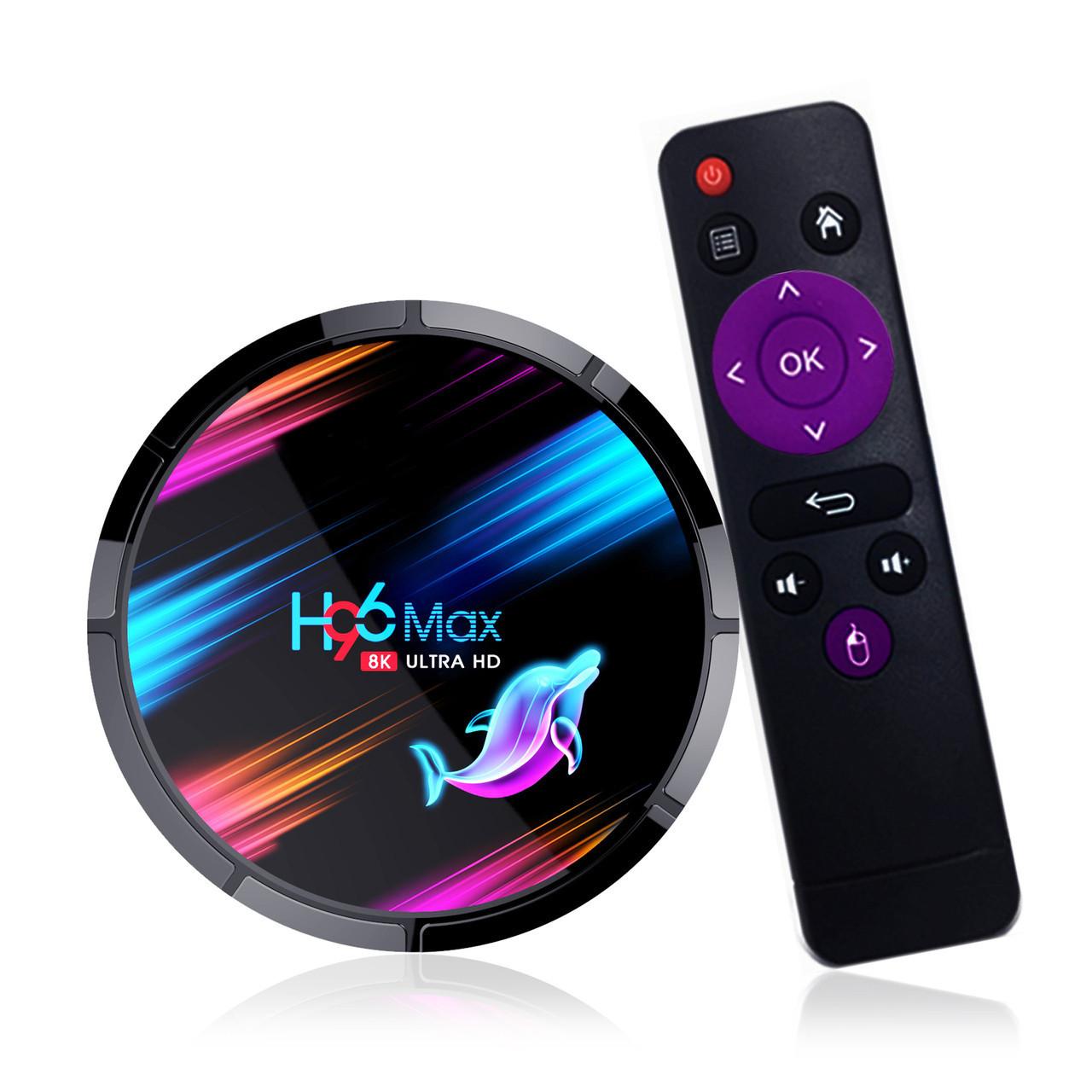 H96 Max X3 4/32, S905X3, Android 9, Smart TV Box, Смарт ТВ Приставка