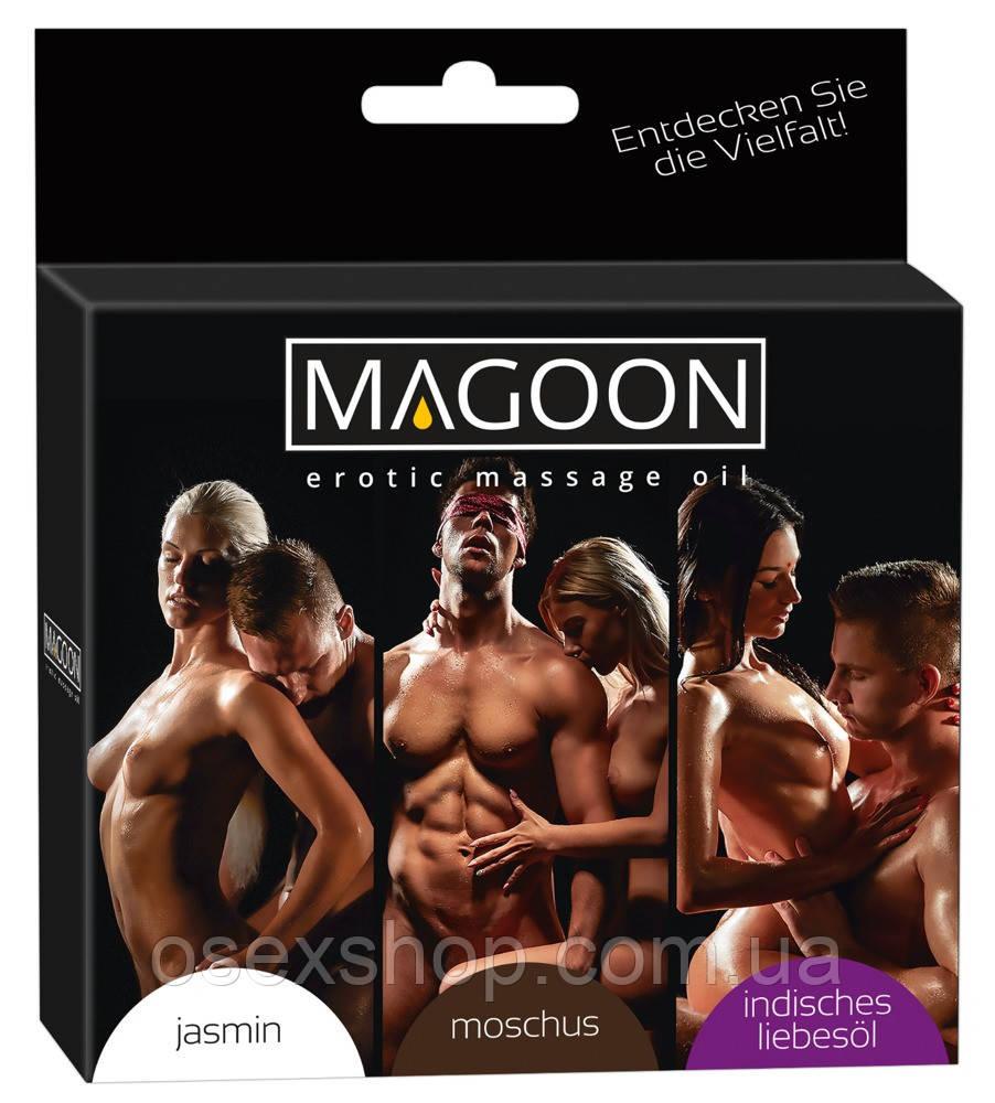 Набор массажных масел - Magoon Massage-Öle Set, 3х50 мл