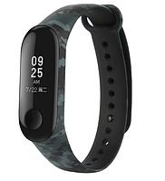 Силиконовый ремешок для фитнес-браслета Xiaomi Mi Band 3 Khaki