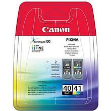 Картридж CANON (PG-40/CL-41) PIXMA iP-1600/2200/MP-150/170/450 MultiPack (0615B043)