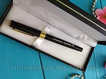 Ручка Глянцевая  с позолотой превосходная, фото 3