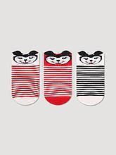 Дитячі шкарпетки для новонароджених c 3D малюнком оптом TM BROSS р. 0-6 міс (13-15 см)
