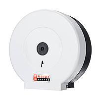 Черный / белый НАСТЕННЫЙ Пластиковый держатель для туалетной бумаги большой рулон запирается-1TopShop