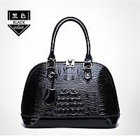 Кожаная женская сумка- клатч ручной работы. Модель 477, фото 2