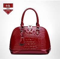 Кожаная женская сумка- клатч ручной работы. Модель 477, фото 3