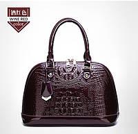 Кожаная женская сумка- клатч ручной работы. Модель 477, фото 4