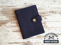 Чехол для документом обложка для паспорта и карт из натуральной кожи ручная работа