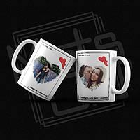 Печать на чашке / Love is на чашке / Печать фото на чашке